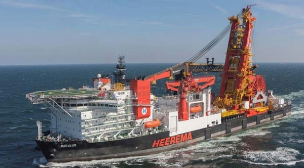 Deepwater construction vessel (DCV)