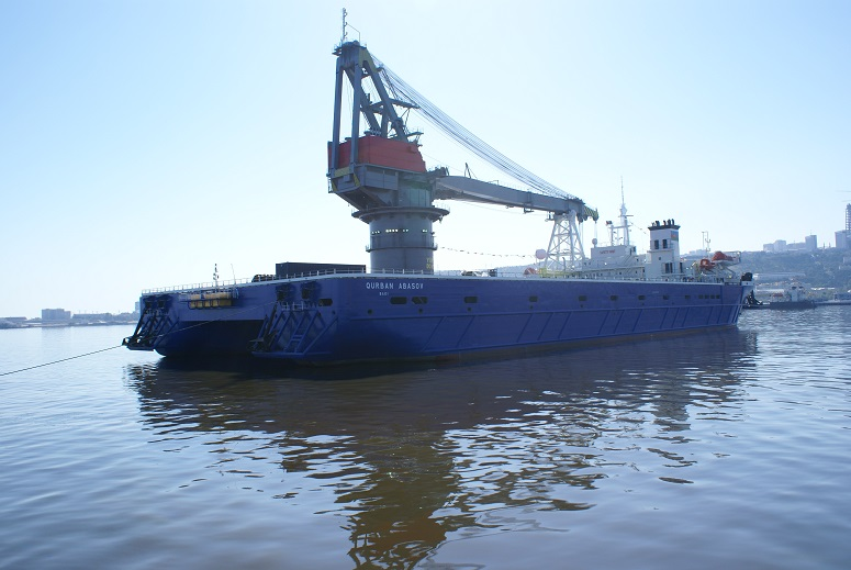 Gurban Abasov (crane ship) - Ship Details
